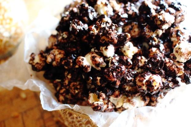 popcorn with choco